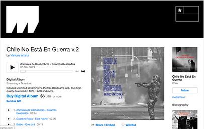 Compilado Chile no está en Guerra V.2 _