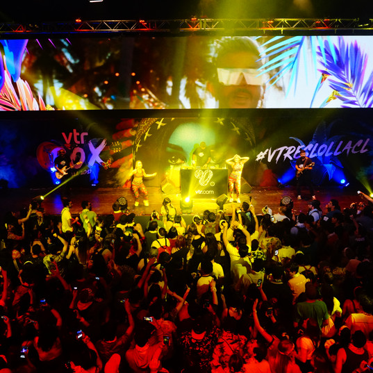 Yonkis Music para VTR Lollapalooza