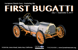 Updated The First Bugatti with Blue