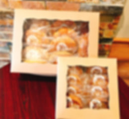 Bread in gift boxes