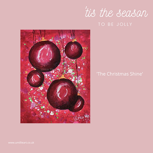Pack of x10 A6 Christmas Cards and Envelopes
