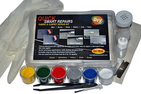 FCQ000 Quick Smart Repairs Fabric & Carpet DIY Repair Kit