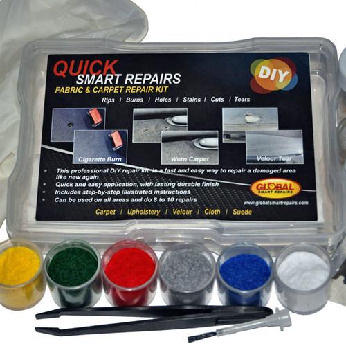 Car Upholstery Fabric Carpet Tear Rip Repair Kit