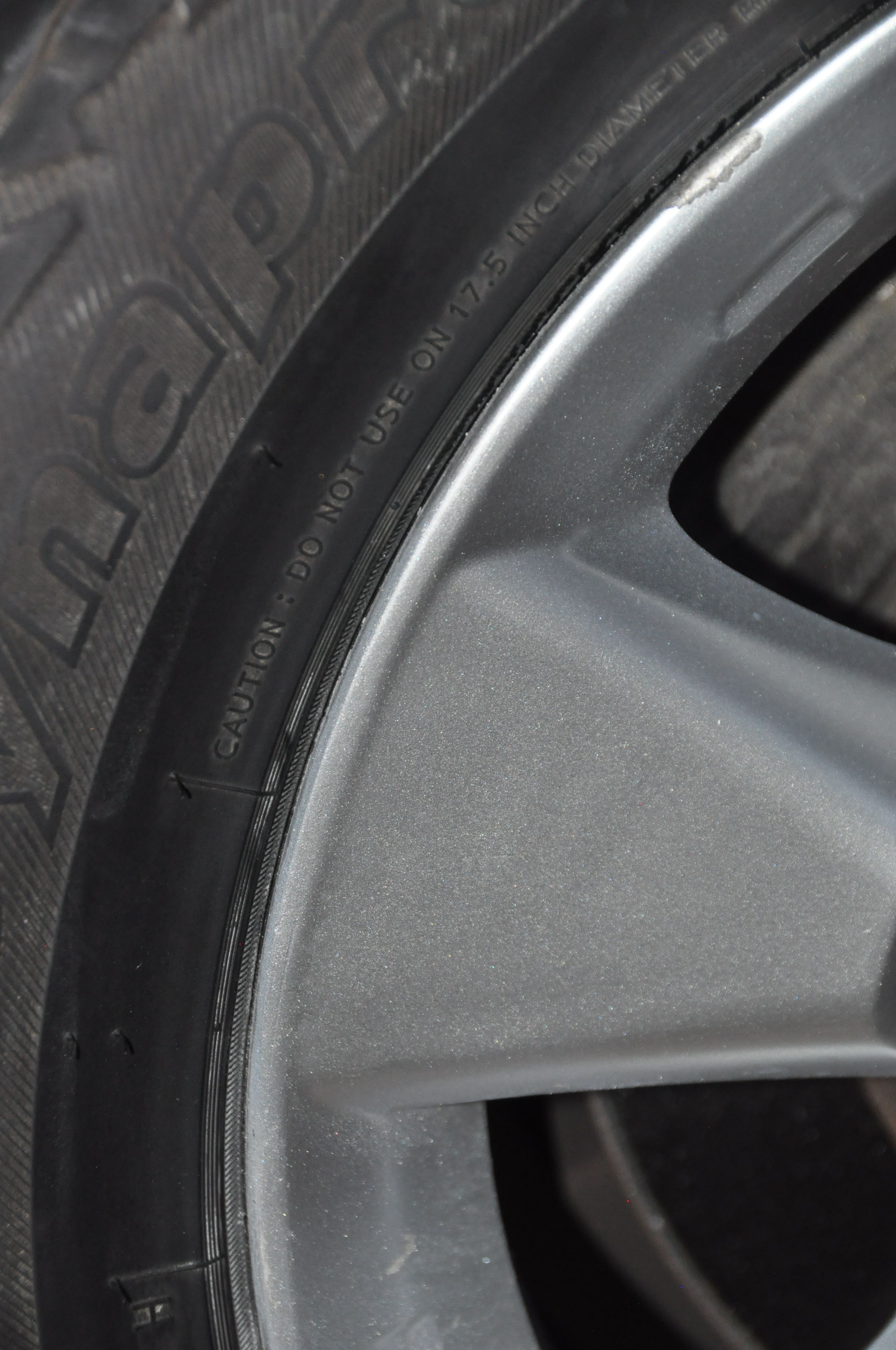 wheel rim - after