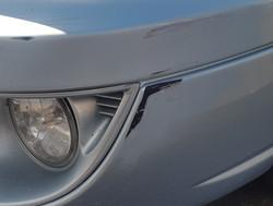 bumper scrape - before
