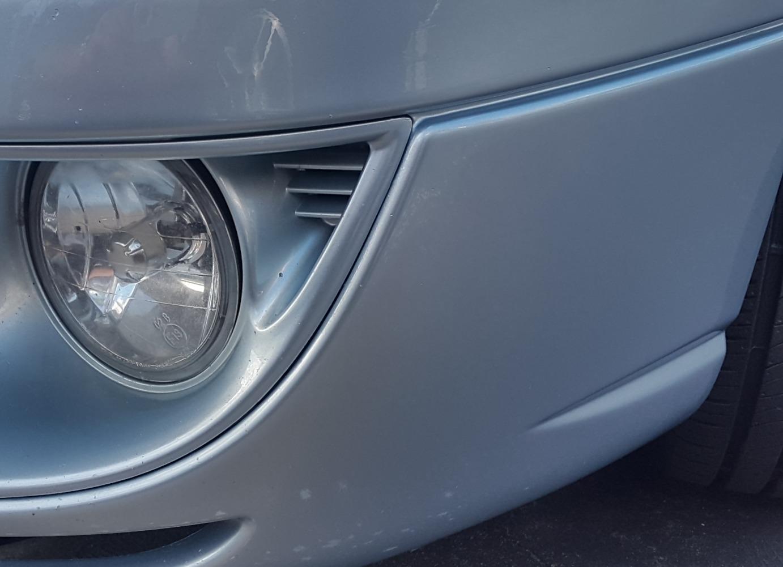 bumper scrape - after