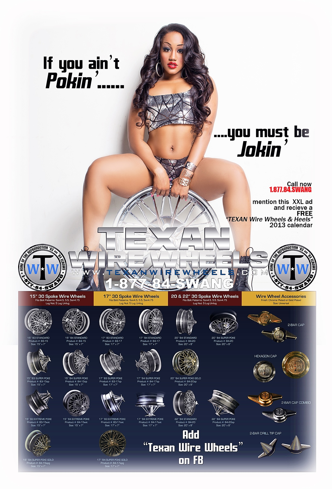 Texan Wire Wheel Ad