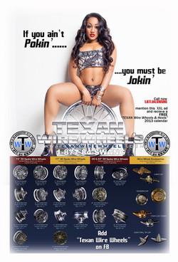 Texan Wire Wheel Ad