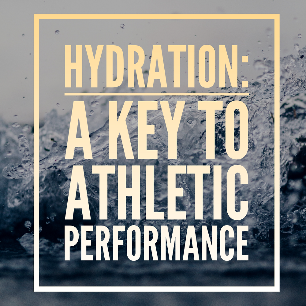 hydration a key to athletic performance