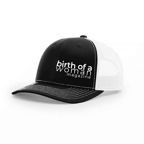 Baseball Hat Birth of a Woman Magazine Logo only