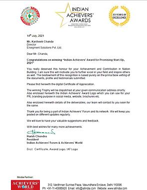 Kartheek Chanda Achievers' award2.png
