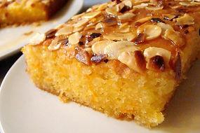 Gâteau à l'orange et aux amandes