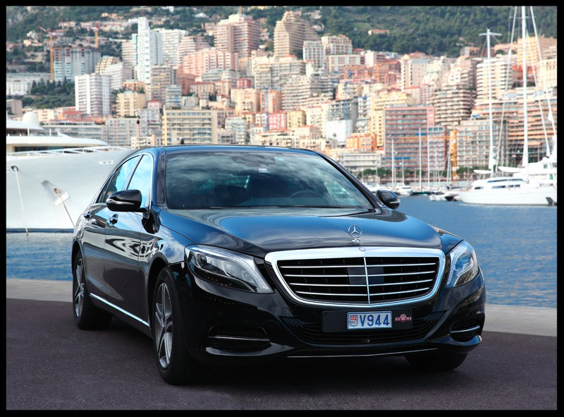 Mercedes-Benz S Class Front View