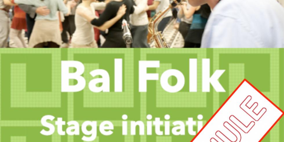 Initiation Bal Folk : ANNULE