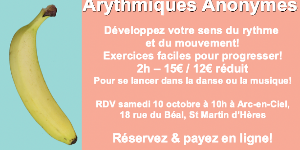 """Stage les """"Arythmiques Anonymes"""""""
