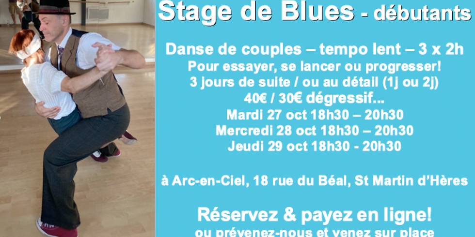 ANNULE: Stage de Blues débutant