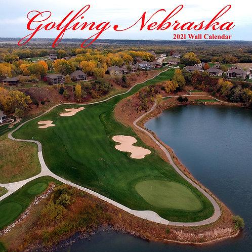 2021 Golfing Nebraska Wall Calendar