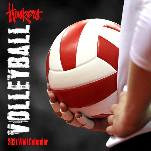 2021 Nebraska Volleyball Wall Calendar
