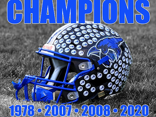 11x14 Championship Design 1 (Other Products in listing)