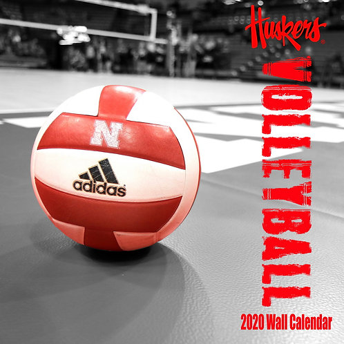 2020 Nebraska Volleyball Wall Calendar