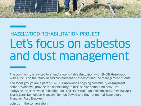 Asbestos & Dust Management Focus Groups