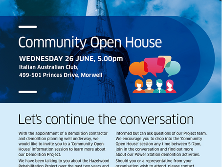 ENGIE Open House Wednesday 26 June