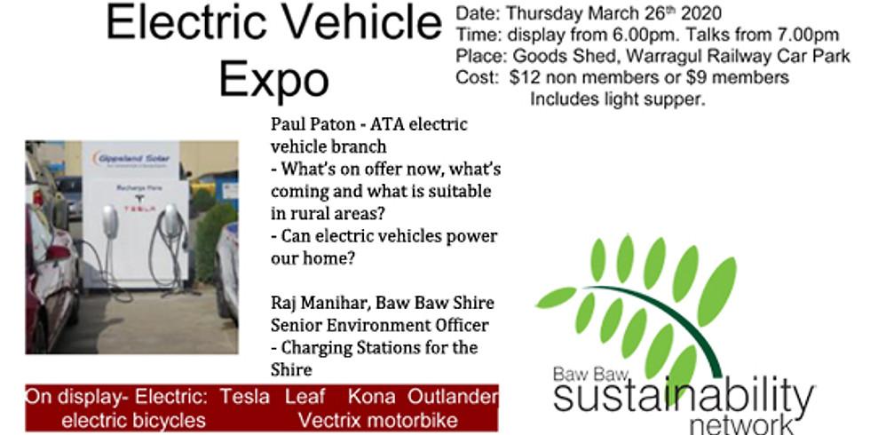 Electric Vehicle Expo
