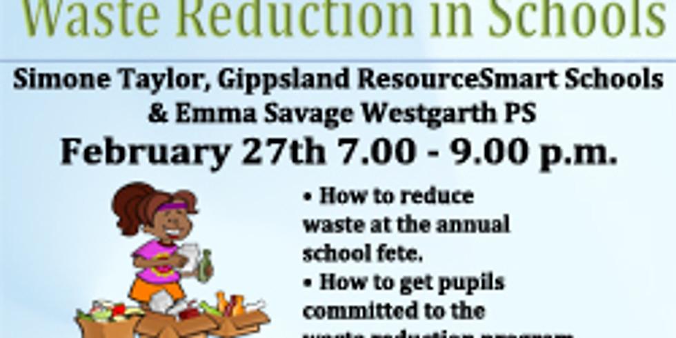 Waste Reduction in Schools