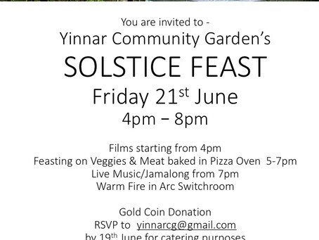 Yinnar Solstice Party