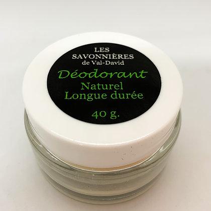 DÉODORANT LONGUE DURÉE - 40 g