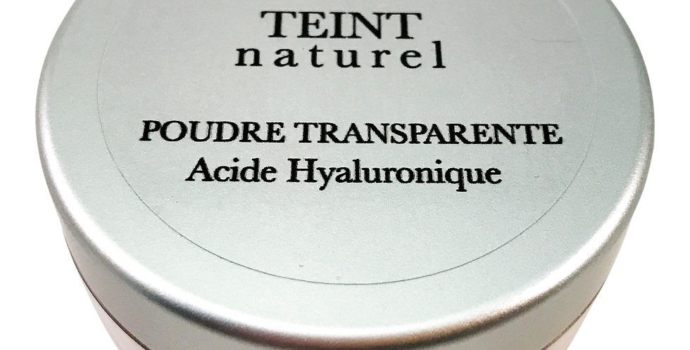 POUDRE TRANSPARENTE ACIDE HYALURONIQUE