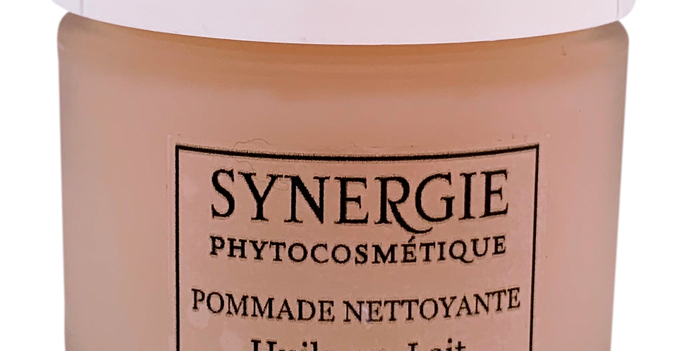 "POMMADE NETTOYANTE   ""oil to milk"""