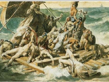 Gericault's Studies for Raft of the Medusa: The importance of pre-planning artworks