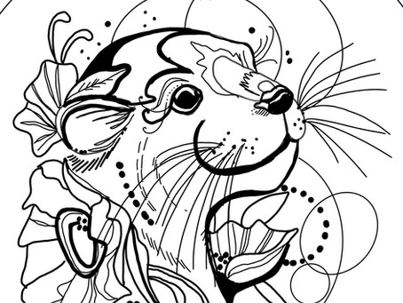 Free Downloads: Coloring Pages!