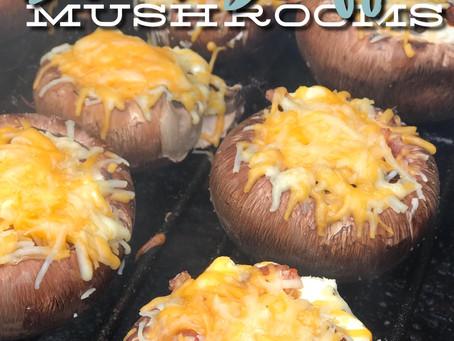 Recipe : Cheesy Bacon Stuffed Mushrooms