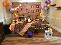 Halloween 5 years old party