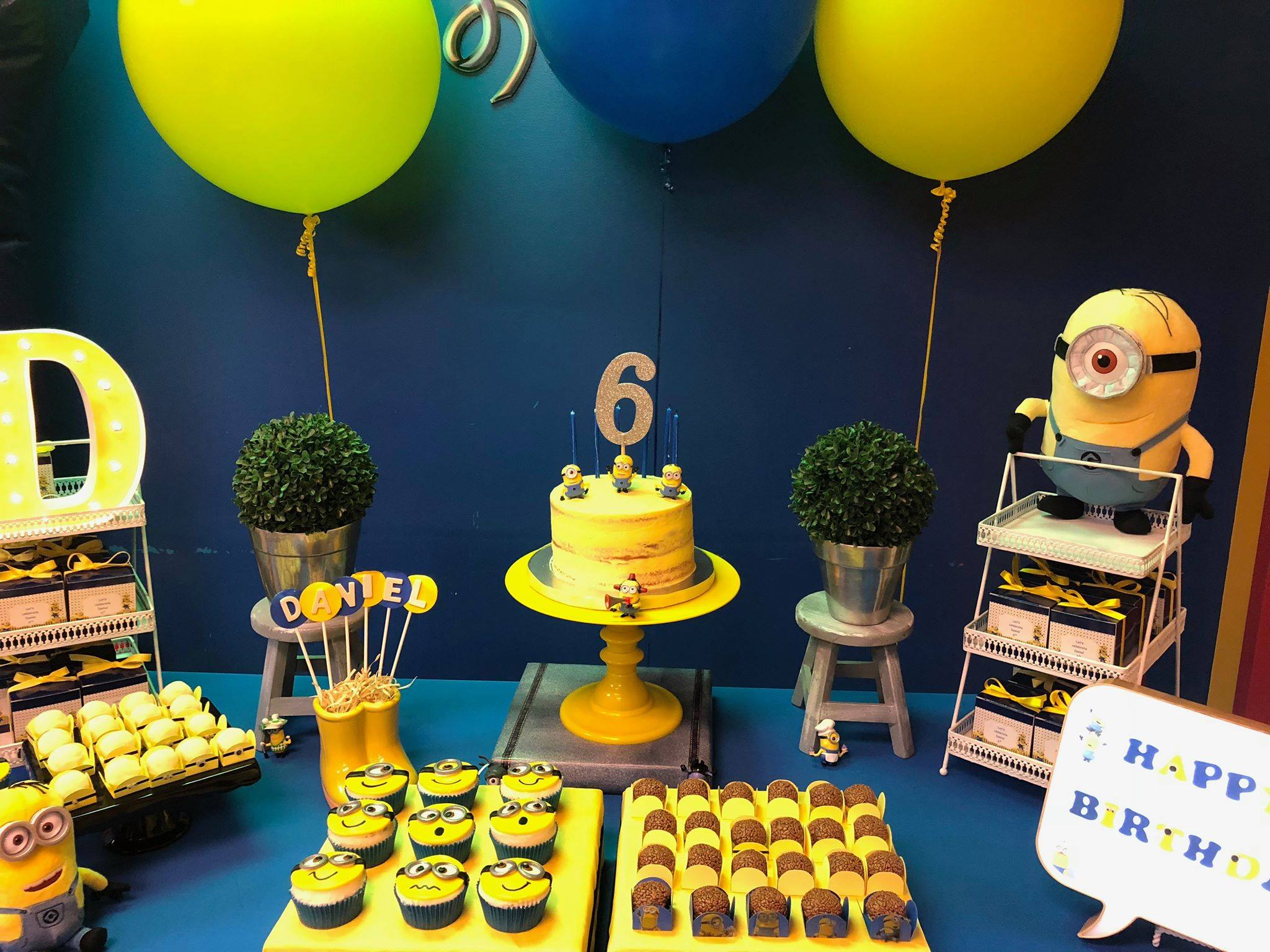 Minions - 6 years old party