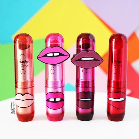 Yazbukey X Shu Uemura Lipsticks