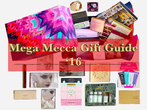 Mega Mecca Gift Guide '16 | 我推荐从Mecca买的礼品
