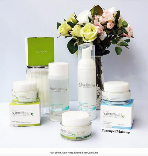 Avon Nutra Effects Skin Care for Sensitive Skin