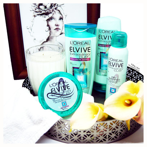 3 Precious Clays - L'Oreal Elvive Extraordinary Clay