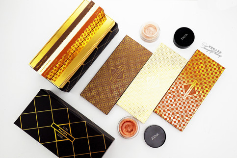 Zoeva Plaisir Box & Strobe Gels Swatches | Zoeva品牌的新产品