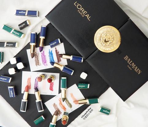 Haute Couture Lipsticks: L'Oreal X Balmain