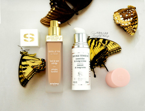 Sisley Paris Sisleÿa Le Teint and Double Tenseur | 美丽的粉底和皮肤的血清