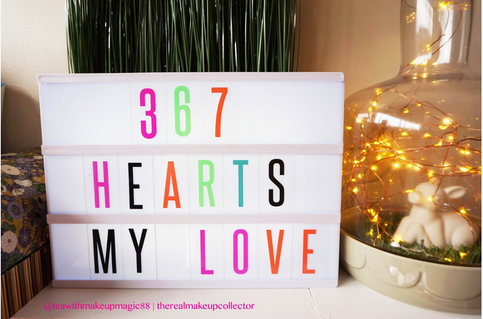 367 Hearts for my Love