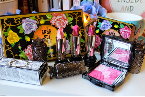 Anna Sui Cosmetics - It's all coming up Roses!