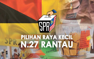PRK RESULT OF DUN RANTAU - CONTINUE TO LEARN BE BETTER GOVERMENT FROM LOSING