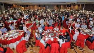 关丹希盟晚宴260席创纪录! 3国8州协调员亮相 全场沸腾!
