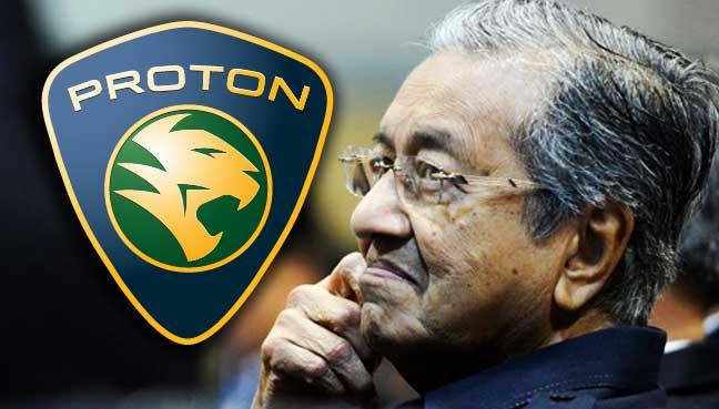 Tun Dr. Mahathir bercadang untuk membuat Kereta Nasional yang baru