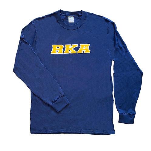 Long Sleeve Tee RKA on Front